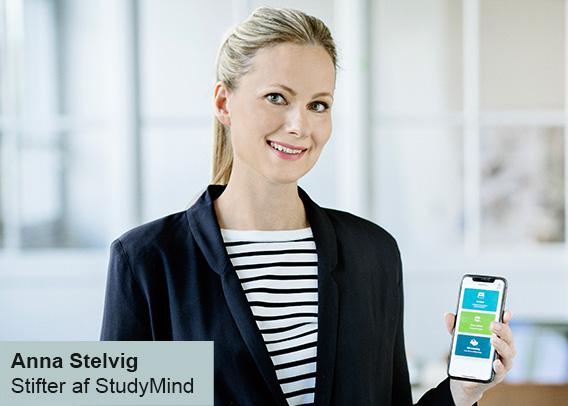 Anna Stelvig præsenterer StudyMinds app